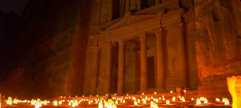 Petra – The Pink City by Day (and byNight)